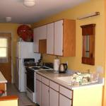 Private kitchen, complete with all you need for making yourself at home, for your own private meals or  snacks.